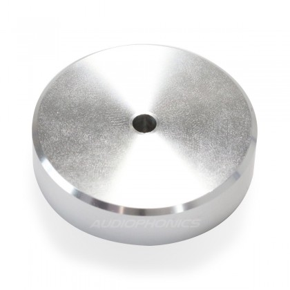 Pied en Aluminium Argent 40x16mm (Unité)