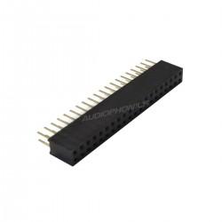 Connecteur 40 PIN 2.54mm Mâle et Femelle / Type GPIO Raspberry Pi