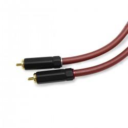 AUDIOPHONICS Câble de Modulation RCA Mâle / Mâle PC-OCC 0.30m (La paire)