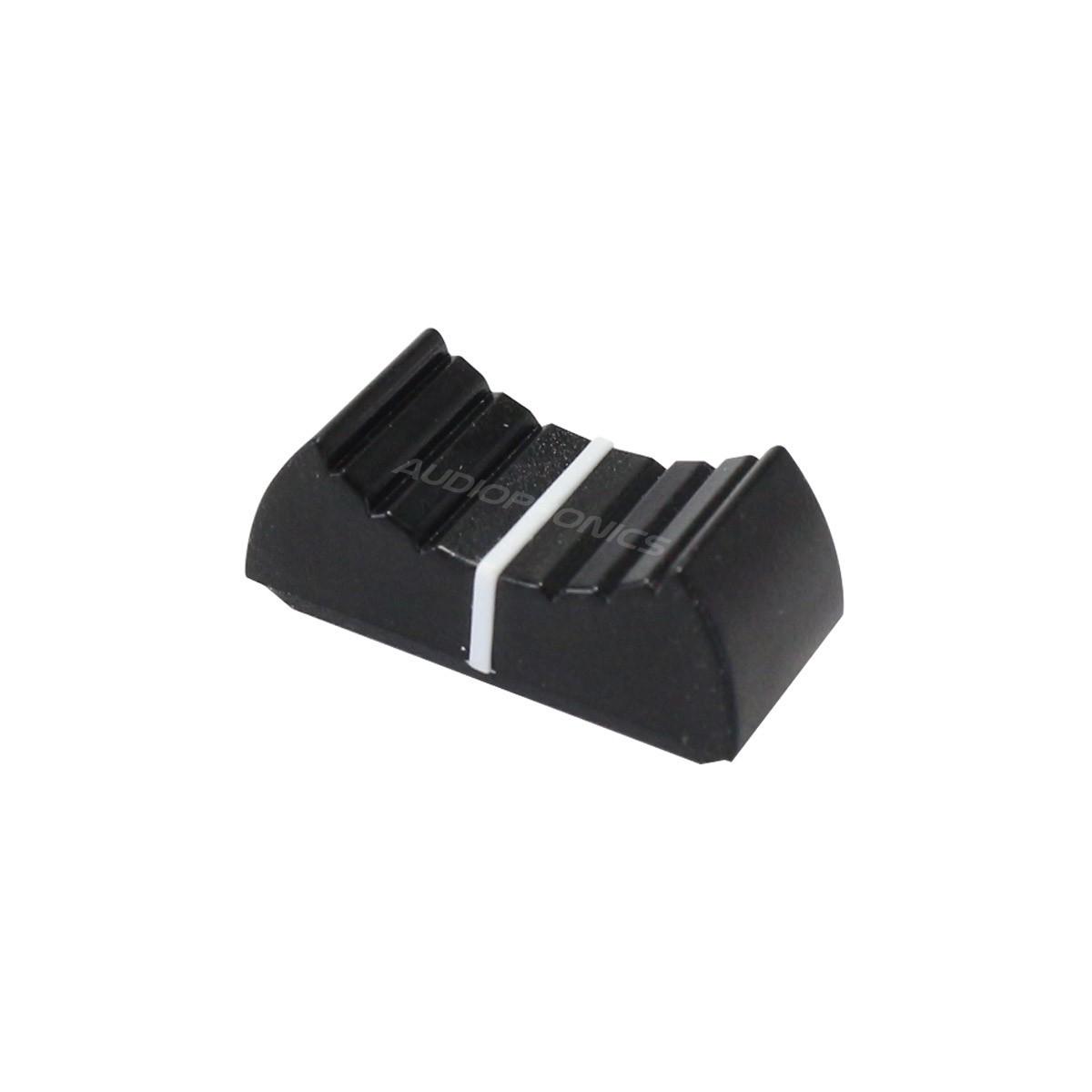 Bouton pour Fader 24x11x11mm 8mm Noir