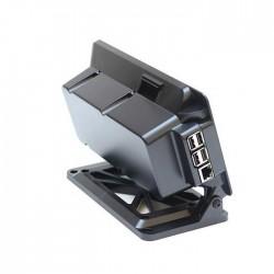 SmartiPi Touch Boîtier Arrière Large 37mm Noir