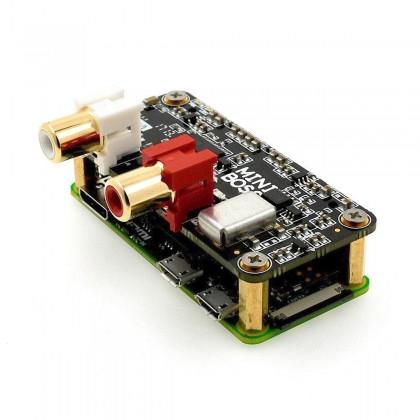 ALLO MINIBOSS DAC PCM5122 32Bit / 384kHz 2 I2S Clocks for Raspberry Pi Zero