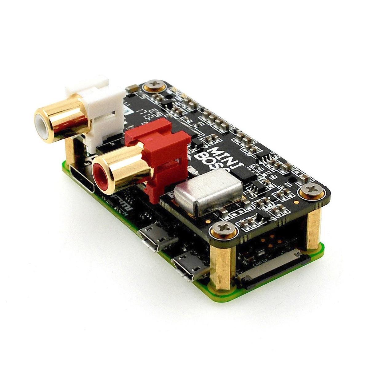 ALLO MINIBOSS DAC PCM5122 32Bit / 384kHz 2 Horloges I2S pour Raspberry Pi Zero