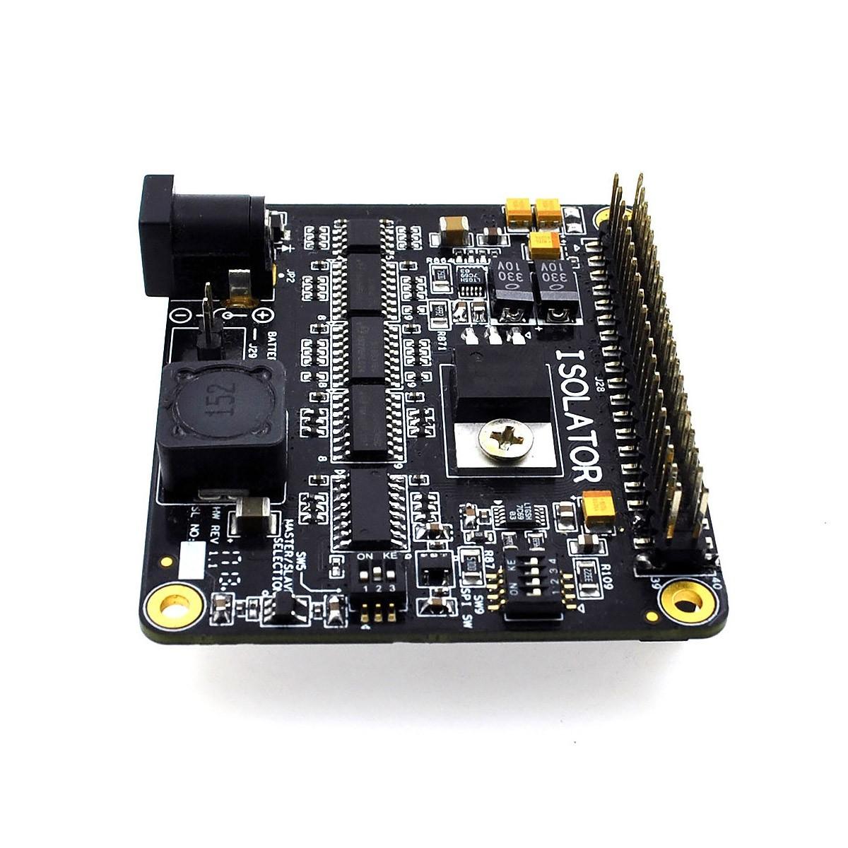 ALLO ISOLATOR V1 Isolateur Galvanique I2S GPIO pour Sparky / Raspberry PI