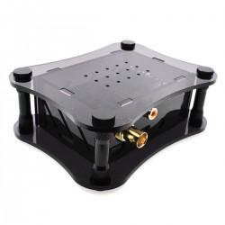 ALLO DIGIONE + RPI CASE Boîtier Acrylique pour Raspberry Pi 2 / 3 & DigiOne Noir