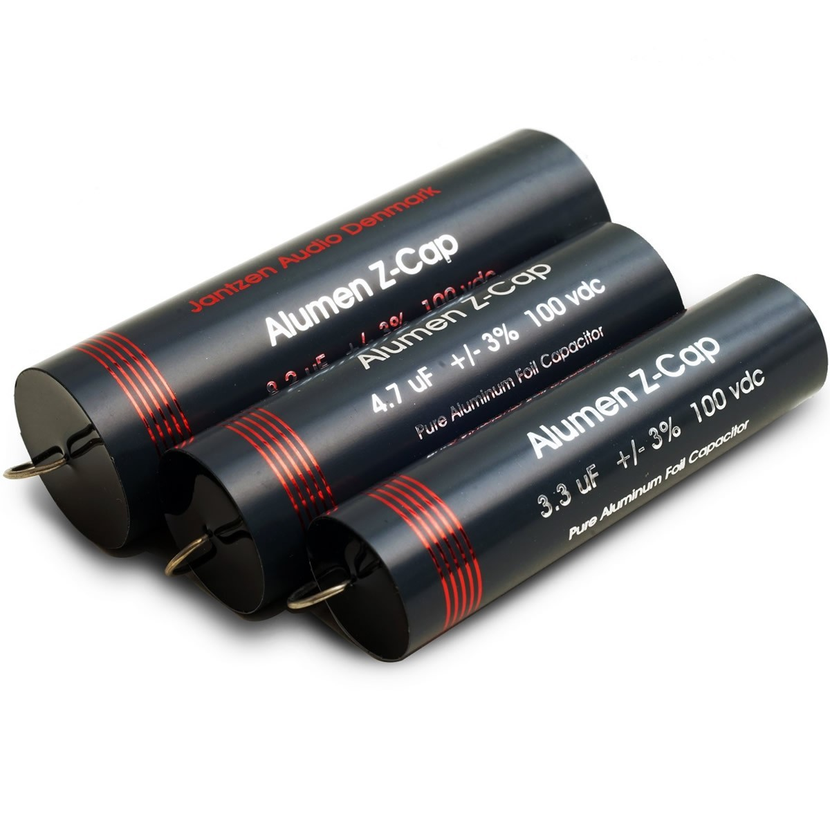 JANTZEN AUDIO ALUMEN Z-cap Condensateur 100VDC 6.8 µF