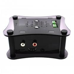 ALLO Acrylic case for Raspberry Pi 2/3 + Boss DAC + Volt Black