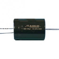 Condensateur Mundorf M-Lytic HV 450V 15+15µF