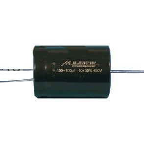 Condensateur Mundorf M-Lytic HV 450V 33+33µF