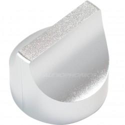 """Aluminum Button Dia. 28mm """"Selector"""" Shaft Ø6mm"""