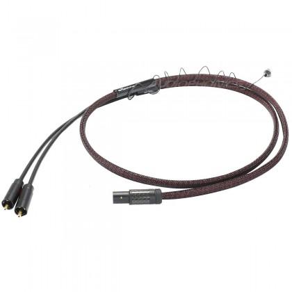 1877PHONO THE MAJESTIC MKII Câble Phono DIN 5 Broches - 2 RCA 1.2m