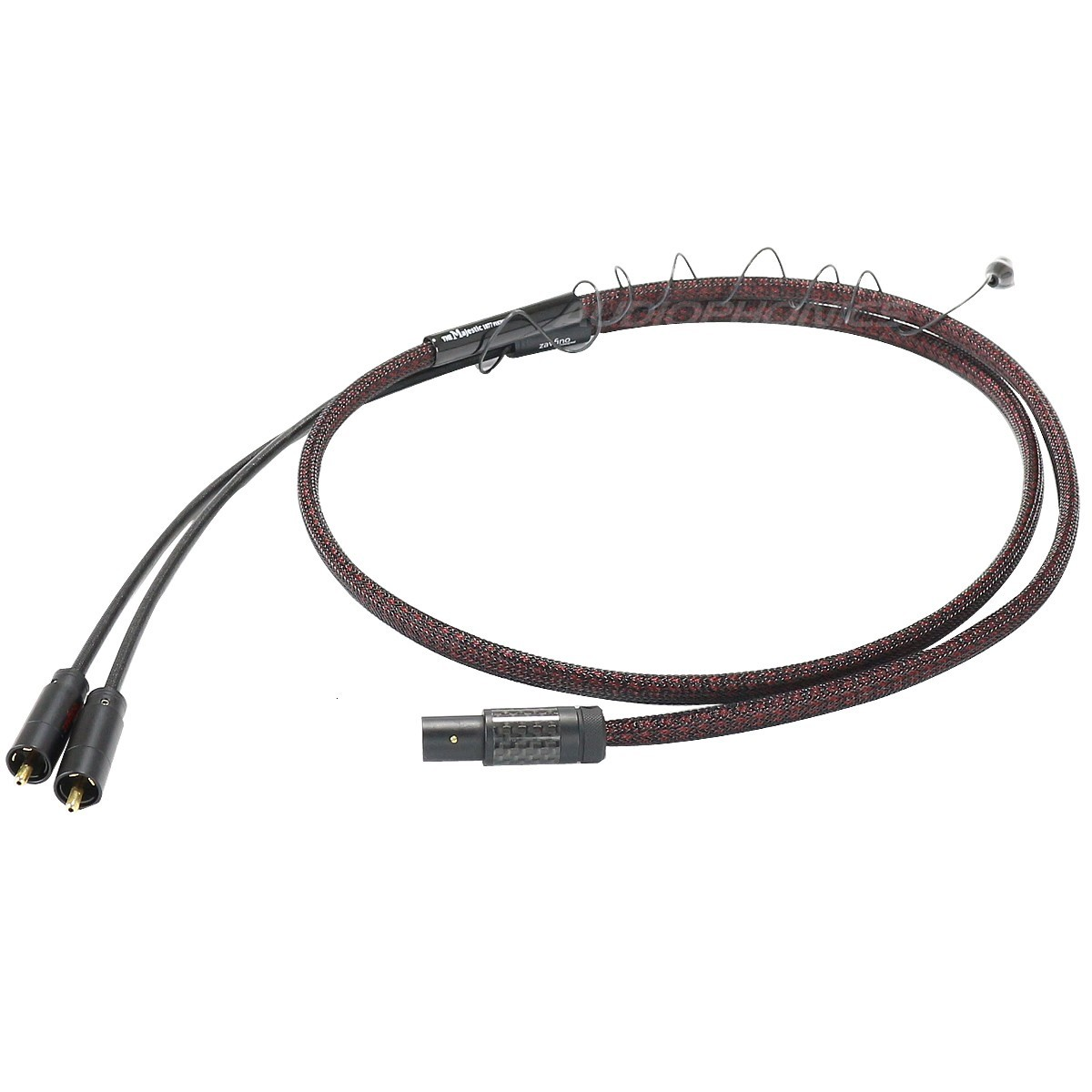 1877PHONO THE MAJESTIC MKII ST Câble Phono DIN 5 Broches - 2 RCA 1.5m