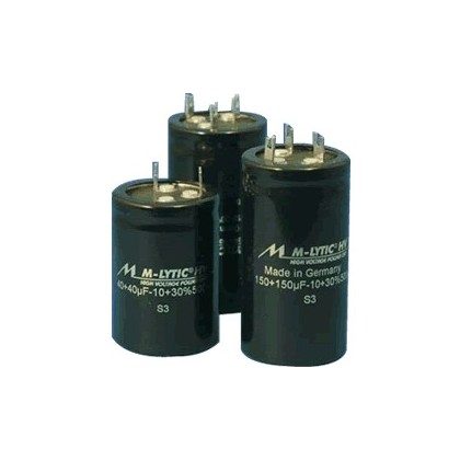 Condensateur Mundorf M-Lytic HV 500V. 100+100µF