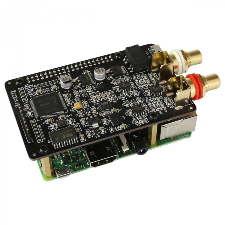 AUDIOPHONICS I-Sabre DAC ES9028Q2M Raspberry Pi 3, 2, A+, B+ / SPDIF