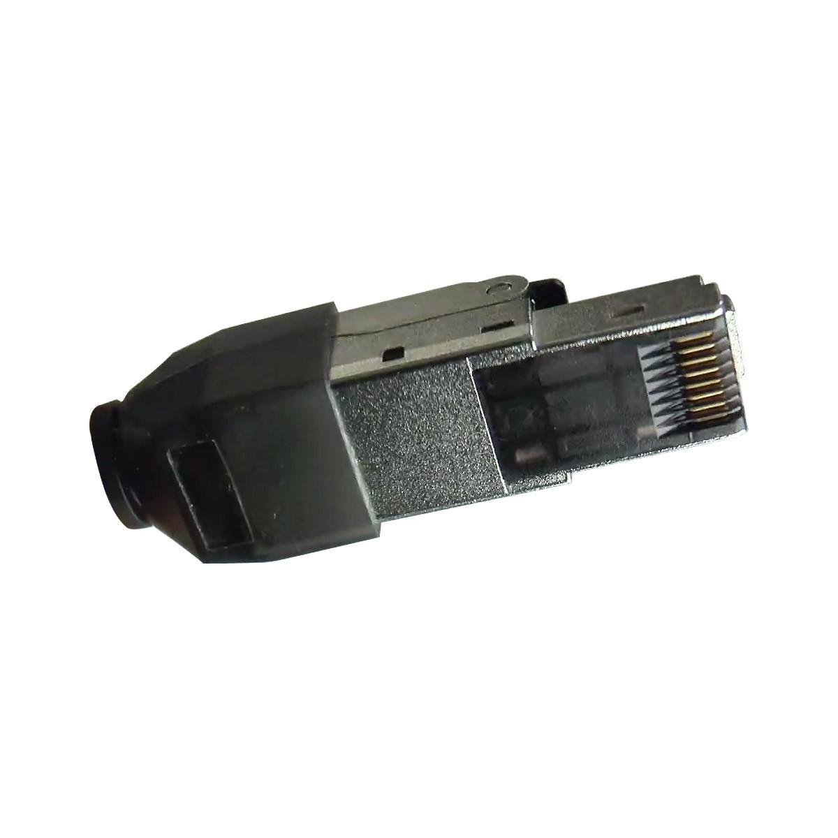 ELBAC 942545-S0 Connecteur RJ45 Ethernet Cat6 Montage Simplifié