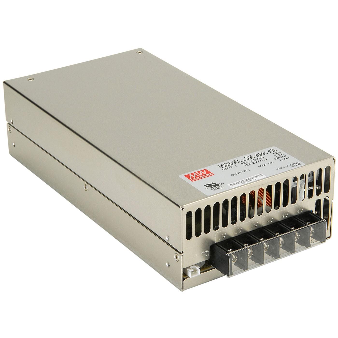 MEAN WELL MW SE-600-48 Module d'Alimentation à Découpage SMPS 600W 48V 12.5A