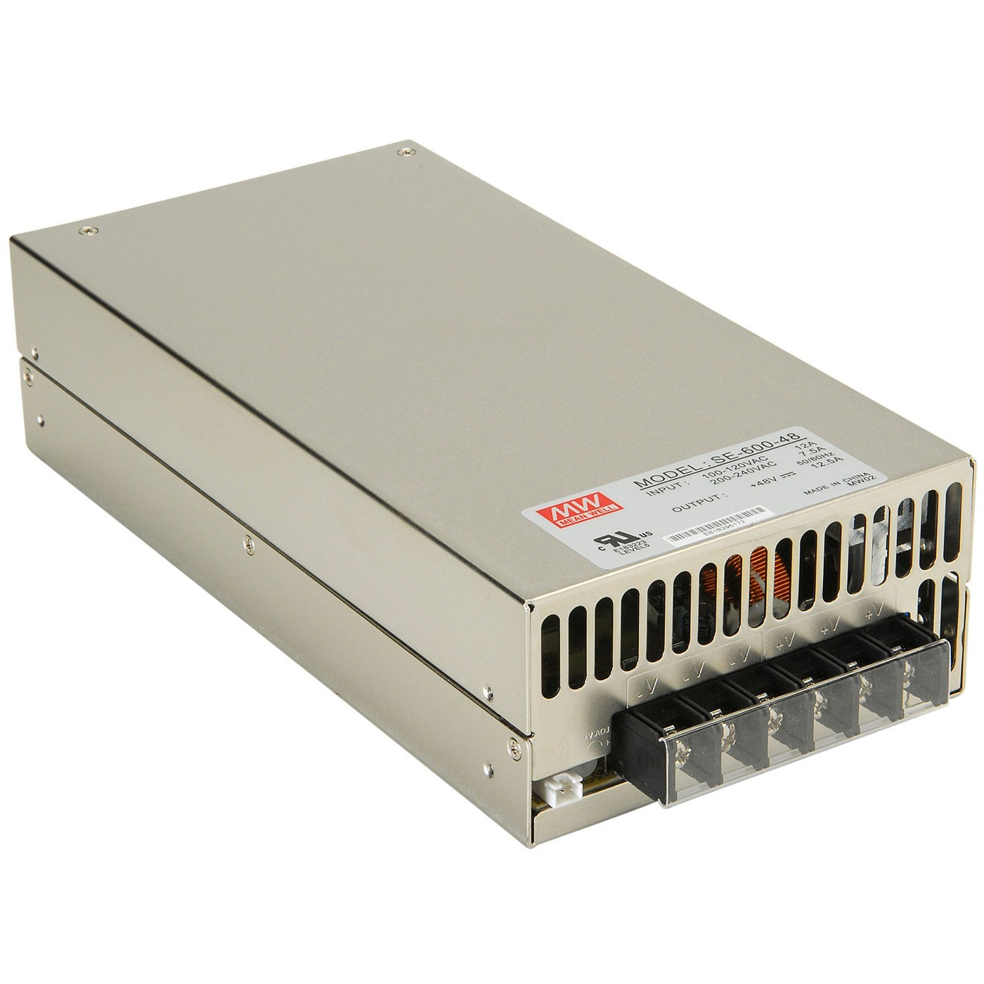 MEAN WELL MW SE-600-48 Switching Power Supply SMPS 600W 48V 12.5A