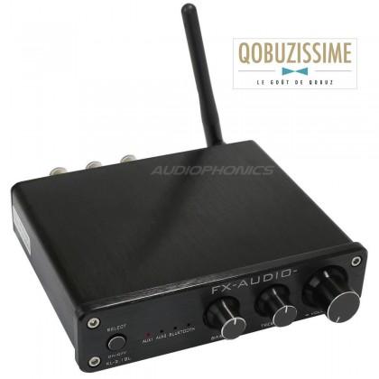 FX-AUDIO XL-2.1BL Amplificateur Bluetooth 4.0 TPA3116D2 2x 25W / 8 Ohm Noir