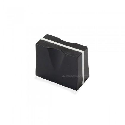 Bouton Noir 19x10x15mm pour Fader 7mm