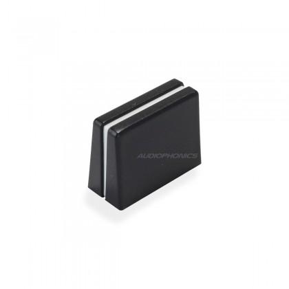 Bouton pour Fader 20x9x15mm 4mm Noir