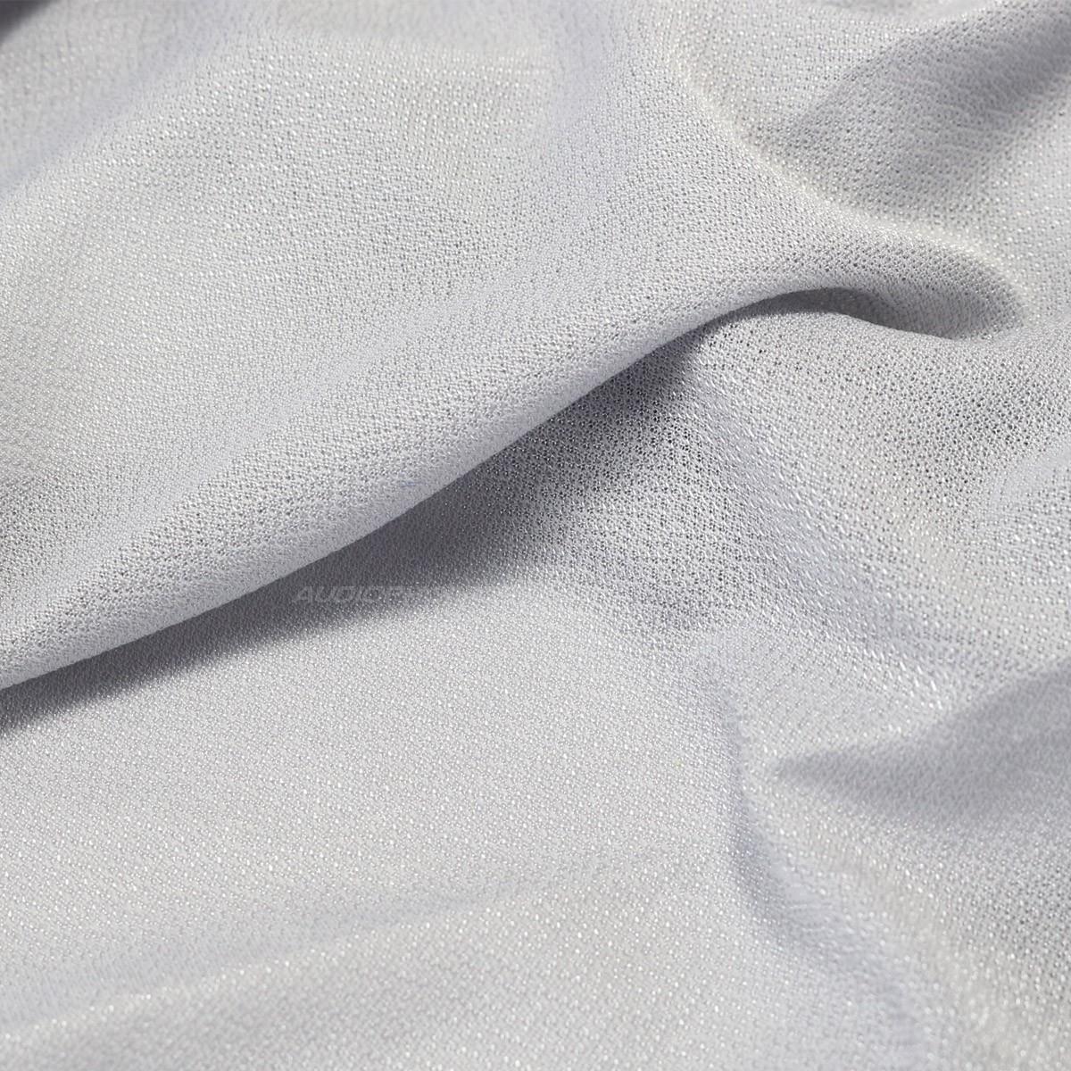 Tissu Acoustique pour Haut Parleurs Gris 175x50cm
