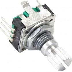 BOURNS PEC11R Encodeur Numérique Rotatif 24 positions bouton poussoir axe méplat