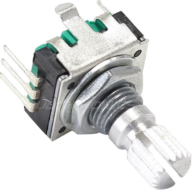 BOURNS PEC11R Encodeur Numérique Rotatif 24 positions bouton poussoir axe cranté