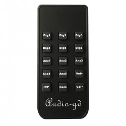 AUDIO-GD Remote Control for NFB-28 / NFB-29 / NFB-1AMP / C-2