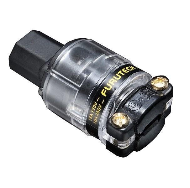 FURUTECH FI-11 (Cu) Connector IEC Alpha α Ø 18mm