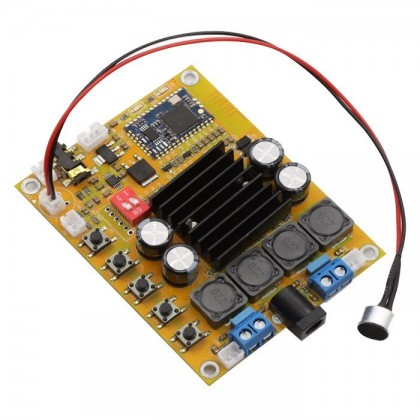 FX-AUDIO Module Amplificateur Class D TDA7492 Bluetooth 2x50W
