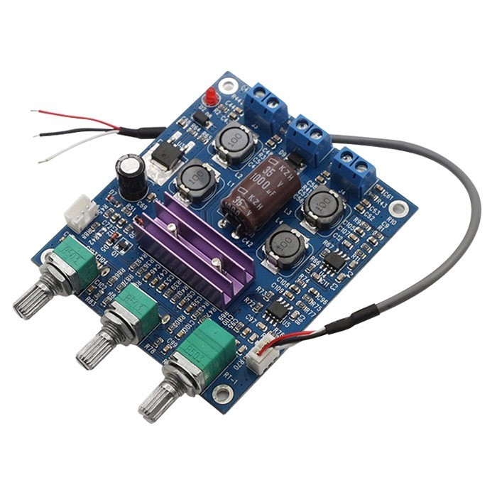 FX-AUDIO D-AMP-50W Module Amplificateur Class D TPA3116 & 2xAOP NE5532 2x50W 4Ω