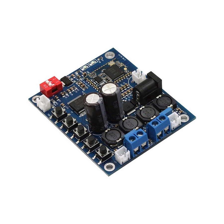 Amplifier Board Audiophonics 30w Stereo Power Based Tda 1521 Fx Audio Tda7492p Class D Module Bluetooth 2x25w