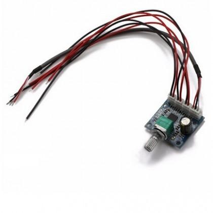 FX-AUDIO PAM8610 Module amplificateur avec volume Classe D 2x10W / 8 Ohm
