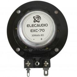 ELECAUDIO EXC-70 Haut-Parleur Vibreur Exciter 30W 8 Ohm 85dB 60Hz - 20kHz Ø 7cm