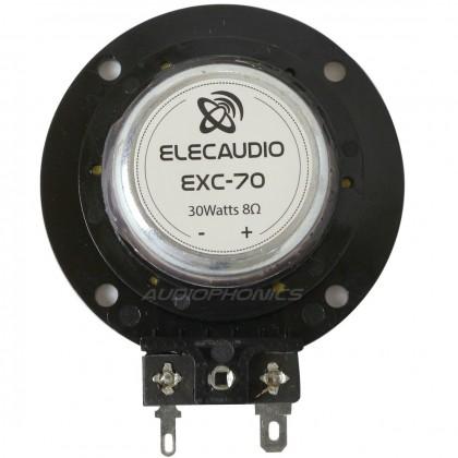 ELECAUDIO EXC-70 Exciter Haut parleur vibreur 8 Ohm