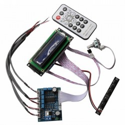 FX-AUDIO PT2313 Volume / Tone Controler + Screen / Buttons Panel / IR Remote
