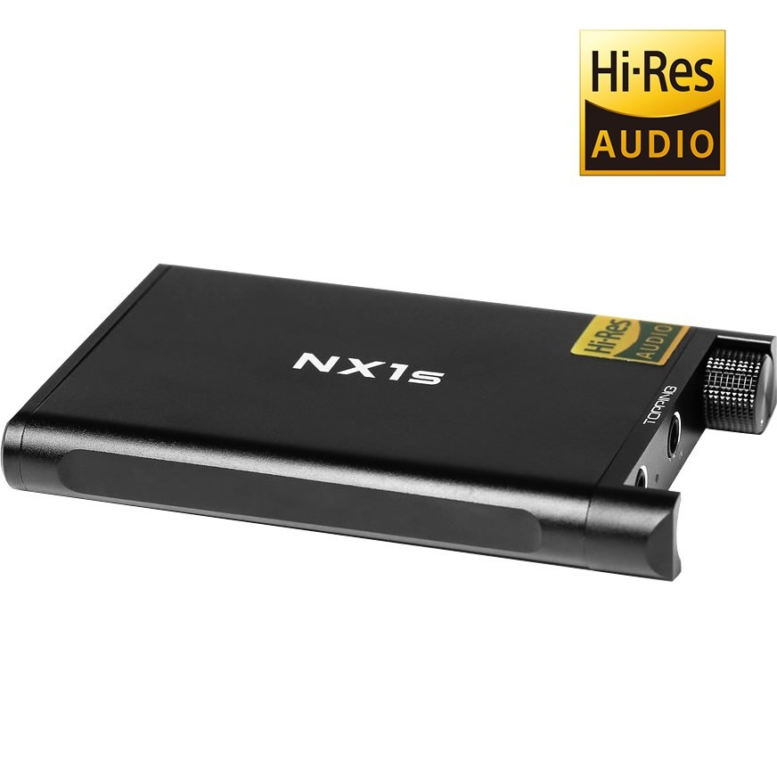 TOPPING NX1S Headphone amplifier on battery 150mW / 32 Ohm Black