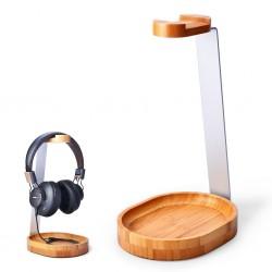 AVENTREE HDTB-TR902-WOD Headphone Stand Bamboo & Aluminium