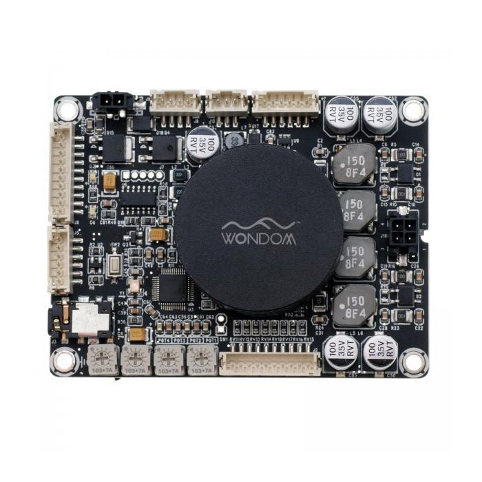 WONDOM AA-JA32172 JAB 3-50 Class D Stereo Amplifier Module with DSP 2x50W