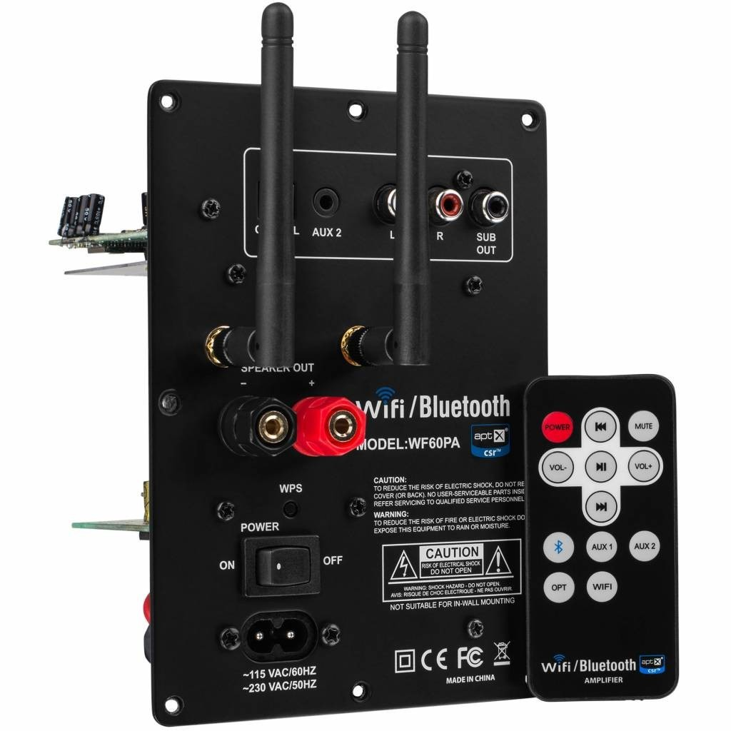 DAYTON AUDIO WF60A Module Amplificateur multiroom sans fil 60W / 8 Ohm
