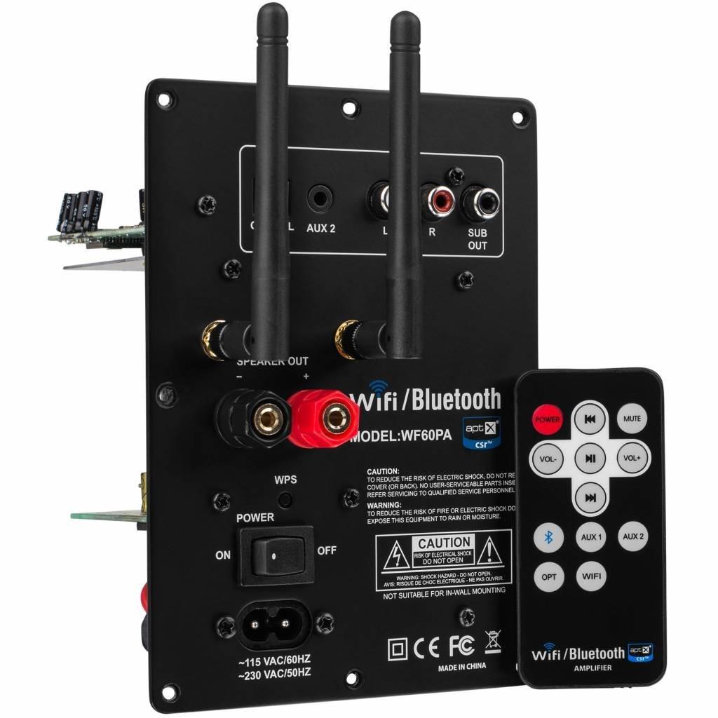 DAYTON AUDIO WF60A Wireless multiroom plate amplifier 60W / 8 Ohm