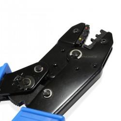 Pince à Sertir pour Embouts de Câbles à Cliquets de 0.5 à 6mm² 20-10AWG