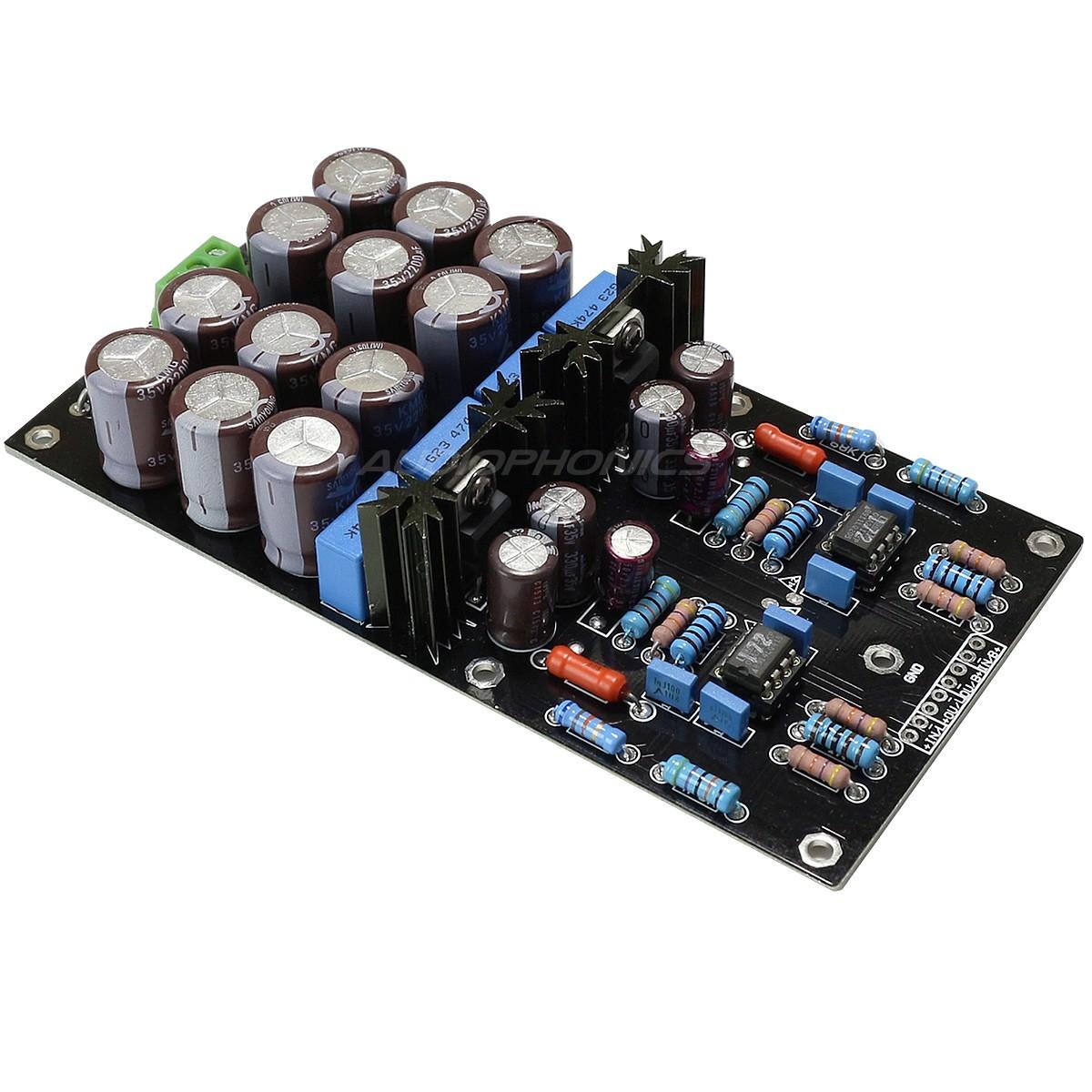 Stereo low noise Phono MM preamplifier AOP OPA2111KP
