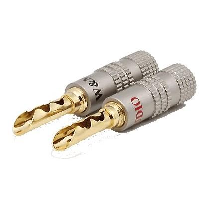 WM-Audio BS-516 Fiches Bananes BFA (la paire) Ø 5.0mm