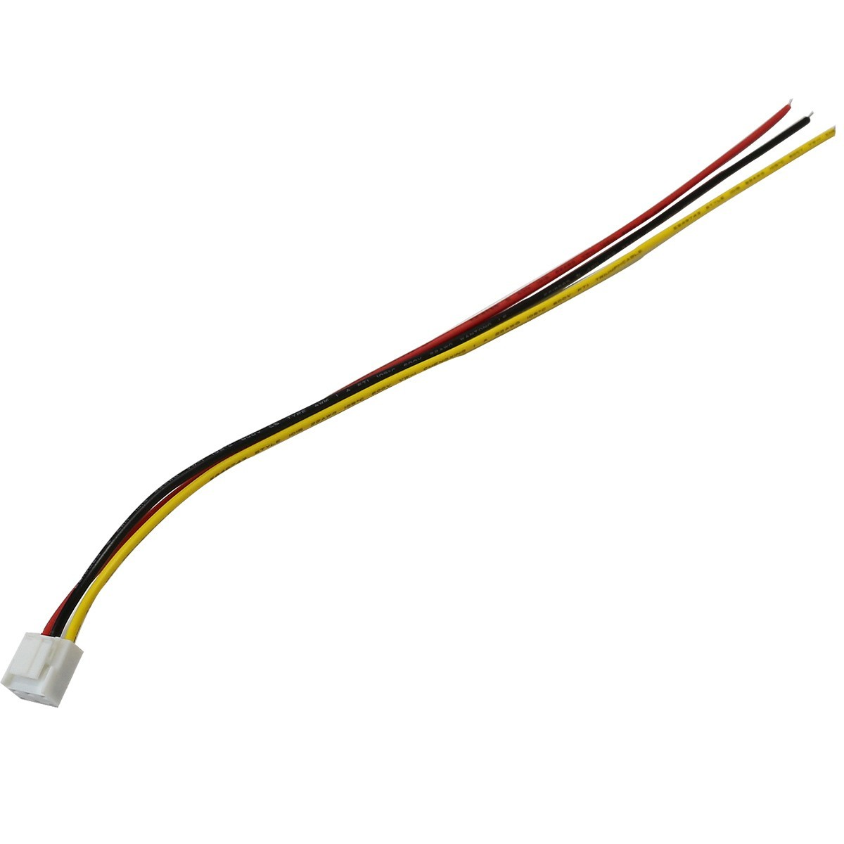 VH 3.96mm cable with 3 pin female connector 30cm 22AWG (Unit)
