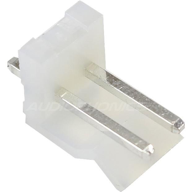 Connecteur Embase CH 3.96mm Mâle 2 Voies Blanc (Unité)