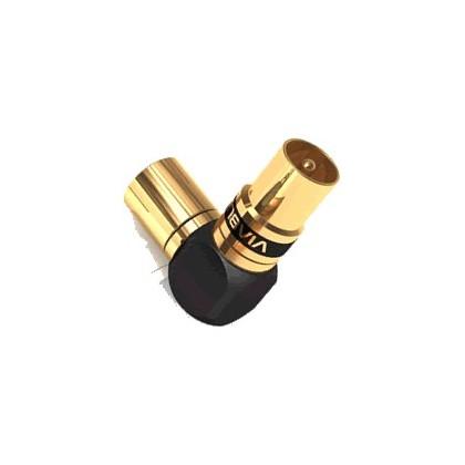 Viablue Adaptateur Male-Femelle antenne XS coudé (la paire)