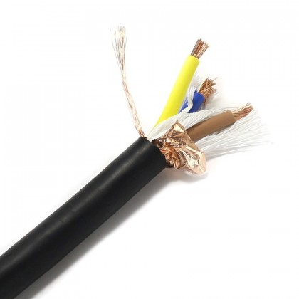 ELECAUDIO CS-331TPE Power cable Double shilded OFC Copper 3x3.5mm² Ø 12mm
