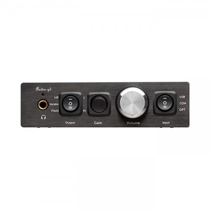 AUDIO-GD R2R 11 DAC / Préampli / Ampli casque DSD 32bit / 384kHz Amanero