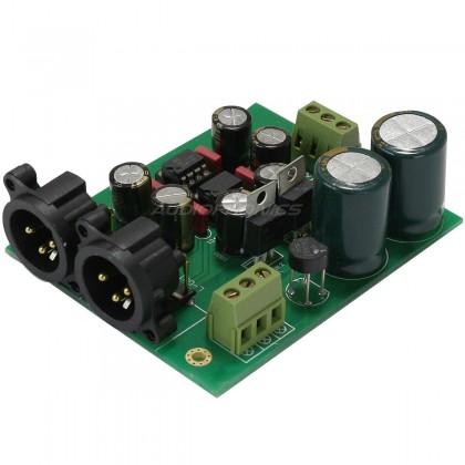 Kit Module symétriseur DRV134 Stéréo XLR